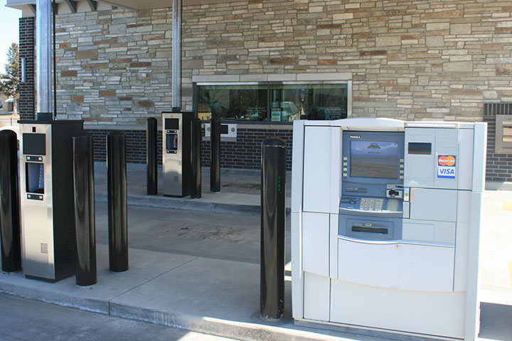 ATM and drive up at the new Ephraim branch