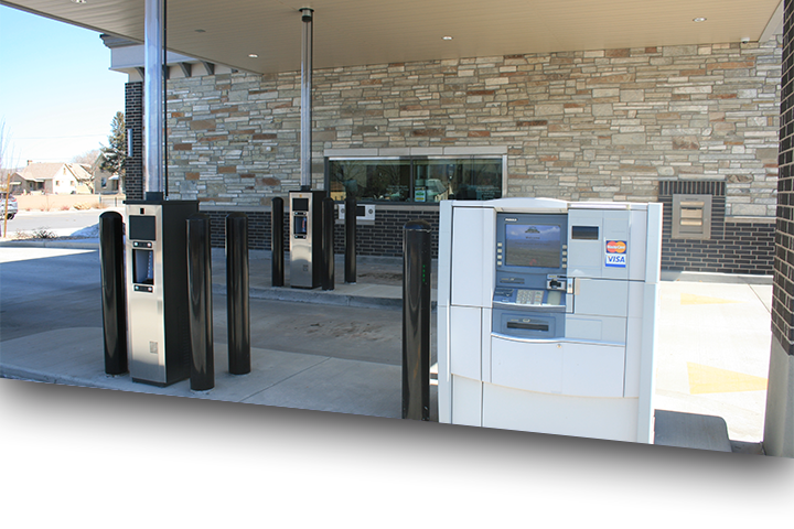 ATM and drive up at the Ephraim Branch