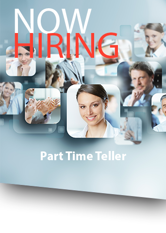Now Hiring posting with professional images of employees