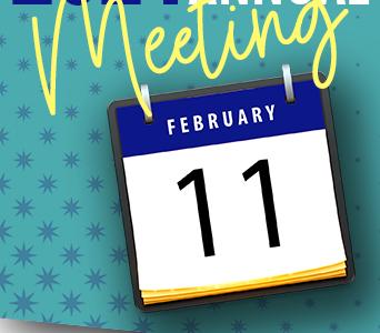 Desk Calendar showing February 11th.